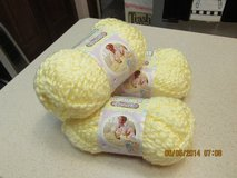 Baby's Soft Yellow Yarn By Bernat - Lot Of 3 Skeins in Houston, Texas