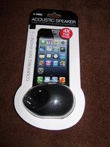 NEW Vibe Sound Acoustic Speaker for iPhone 5 in Camp Lejeune, North Carolina