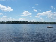 Sunset Ridge Resort, Minocqua, WI on Lake Shishebogama Weekly cabins in Naperville, Illinois