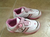 Like NEW! Hello Kitty Size 9 Sneakers in Naperville, Illinois