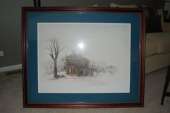 Large country print in Chicago, Illinois