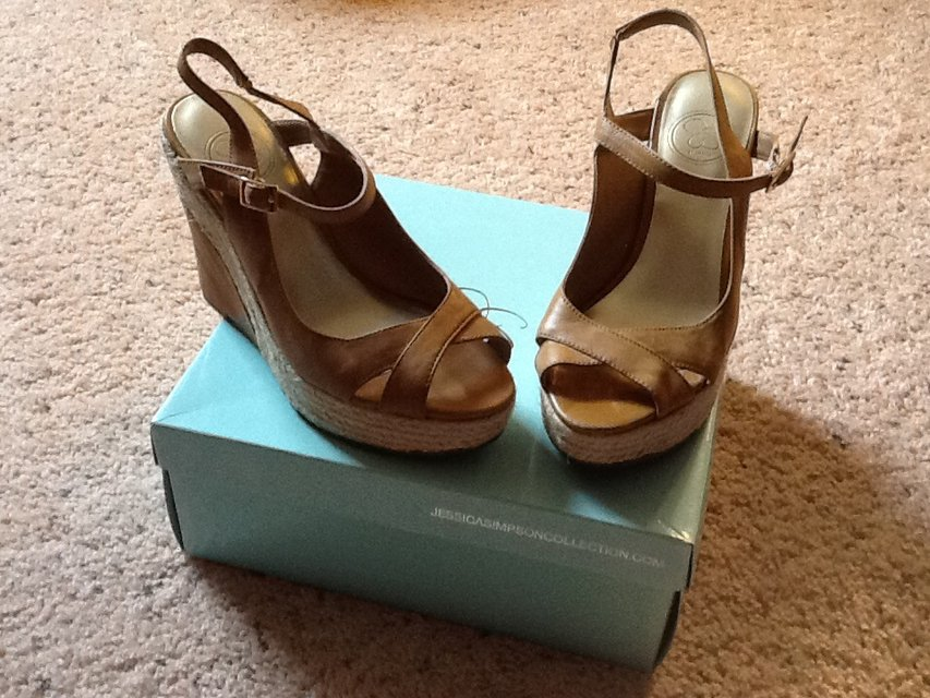 Woman's Jessica Simpson Sand Wedges   Shoes for sale on ...